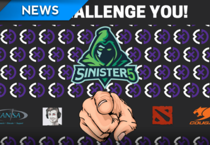 Sinister5 and Exdee Gaming Dota 2 Charity Match