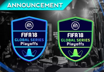 FIFA 18 Global Series Playoffs this week