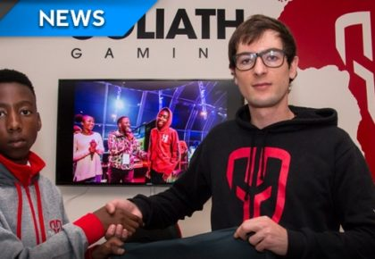 Goliath Gaming signs second FIFA player