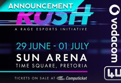 RUSH Esports tournament registrations now open