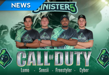 Sinister5 sign new Call of Duty team