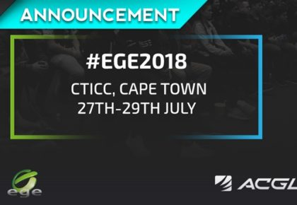 EGE 2018 | Registrations open for COD and FIFA