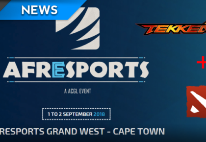 ACGL announce Tekken 7 and Dota 2 tournaments at Afresports