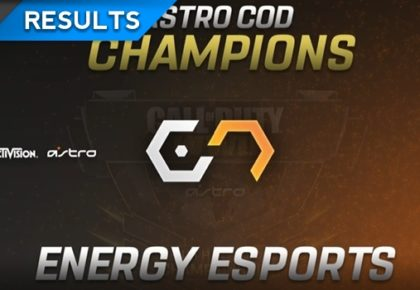 Energy Esports is the season one ASTRO CoD Champion