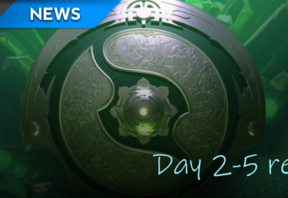The International 8: Main Event day two to five recap