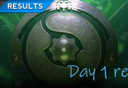 The International 8: Main Event day one recap