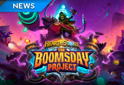 The Boomsday Project is coming to Hearthstone
