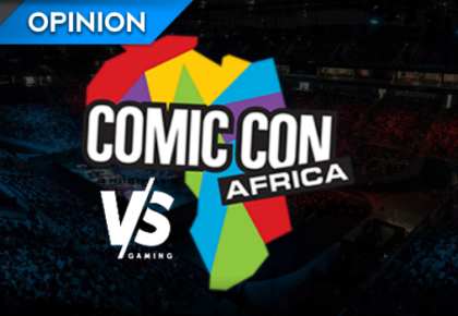 VS Masters at Comic Con Africa: Chatting to Ridditz