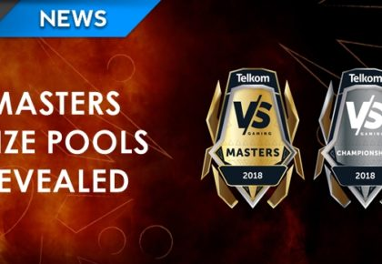 VS Gaming Masters prize pools revealed