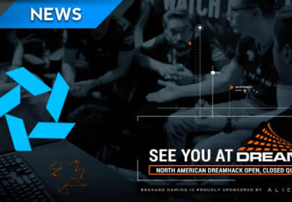 Bravado Gaming are at DreamHack this weekend