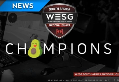 Bravado sweep WESG SA Qualifiers