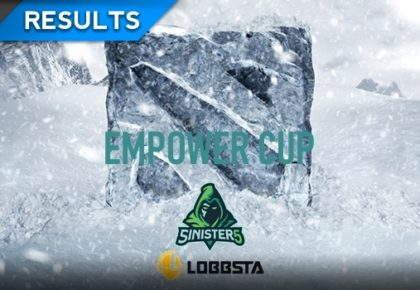The Dota 2 Empower Cup results