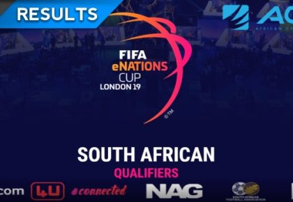 Two South African players progress to FIFA eNations Cup London 2019