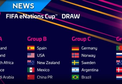Catch South Africa at the eNations Cup this weekend