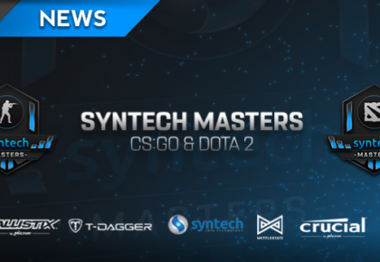 Syntech Masters launches with R150,000 in prizes for CS:GO and Dota 2