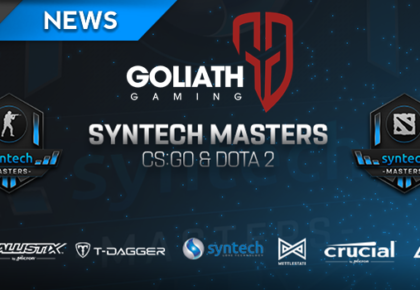Goliath Gaming sweep Syntech Masters