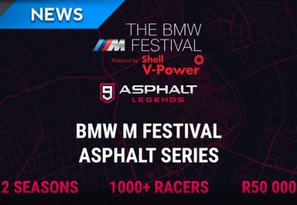 BMW M Festival Asphalt Series offers a R50,000 prize pool