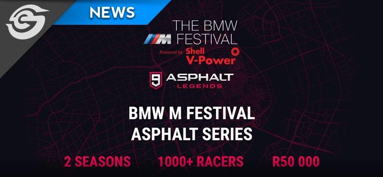 BMW M Festival Asphalt Series offers a R50,000 prize pool
