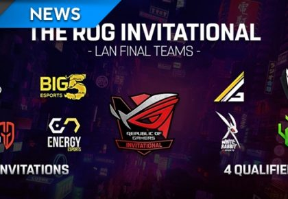 The ASUS ROG Invitational live this weekend