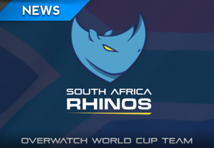 An update on South African Rhinos Overwatch team