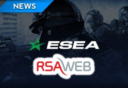 ESEA partners with RSAWEB for CS:GO