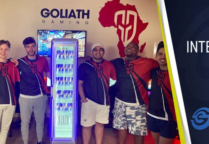 Interview with Goliath Gaming's Golz ahead of the trip to Dubai