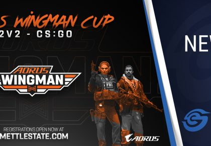 Aorus Wingman Cup for CS:GO announced