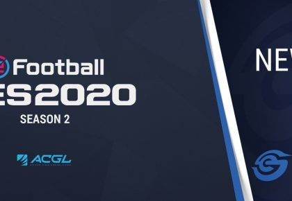 Season Two of the PES 2020 ACGL series announced
