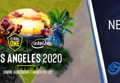 ESL One Los Angeles 2020 Dota 2 Major postponed