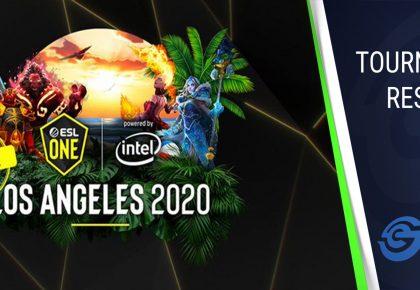 ESL One Los Angeles Regional Online League - The four winners so far