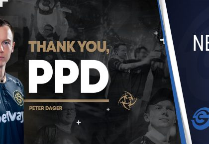 "Dota 2 legend Peter ""ppd"" Dager"" retires as a player"