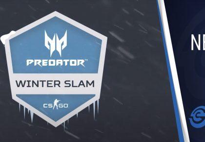Predator Winter Slam CS:GO tournament with R15,000 prize pool announced