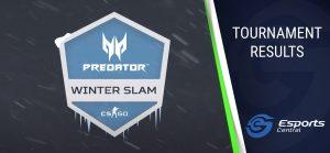 The Predator Winter Slam Finals Wrap