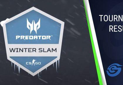 Predator Winter Slam qualifier two wrap up