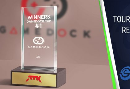 ATK Arena wins first Gamedock Cup without dropping a single map