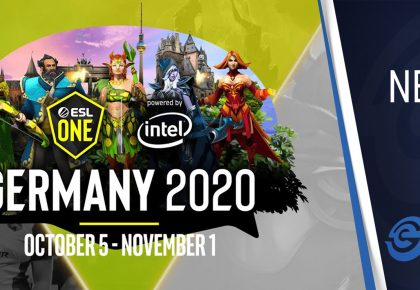 ESL One Germany announced for Dota 2 fans to enjoy in October