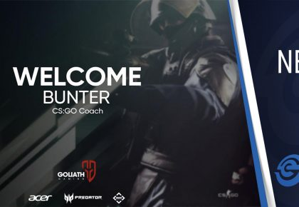 Goliath Gaming gets international CS:GO coach