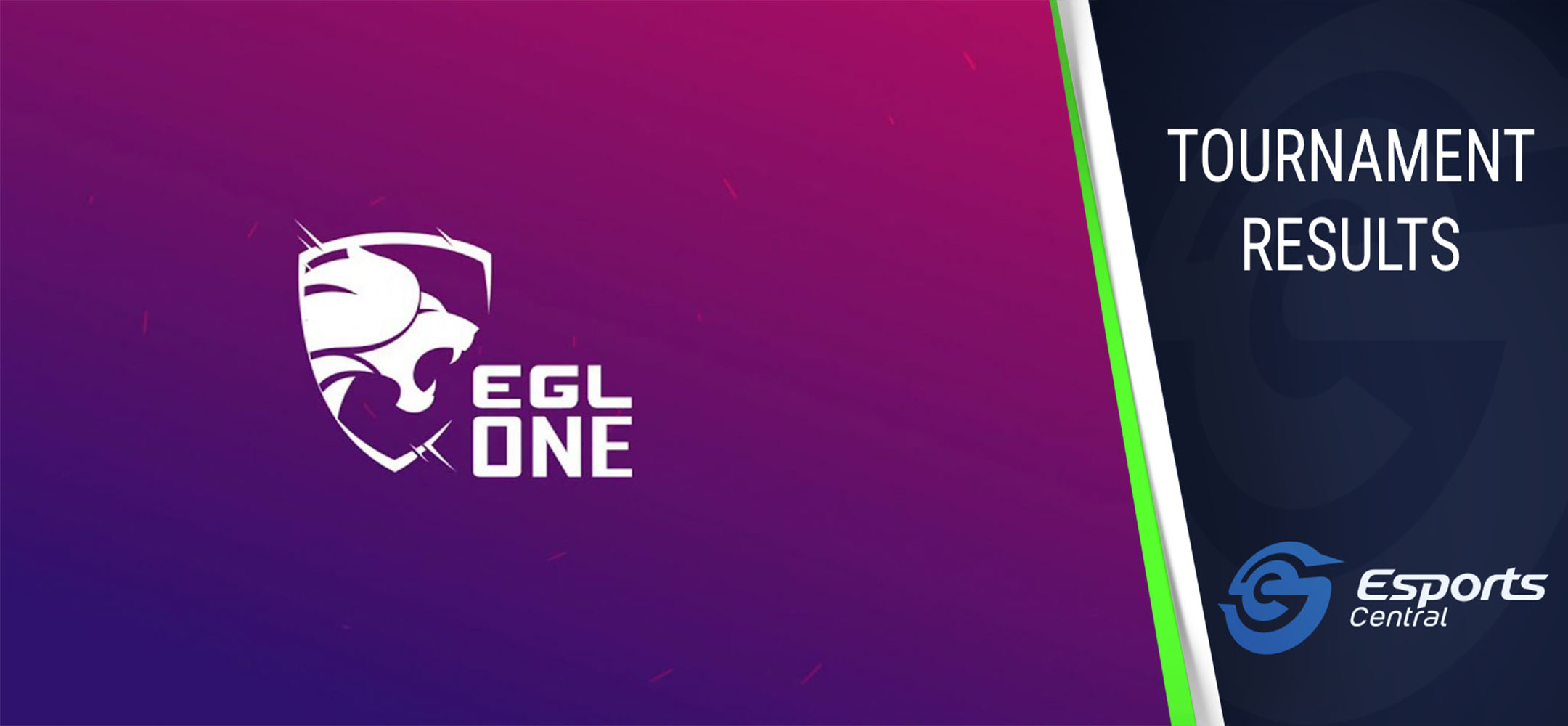 EGL One Dota 2